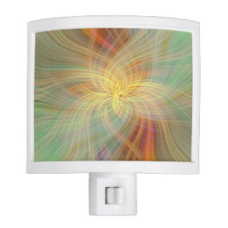 Warm multicolored abstract nite lights