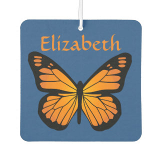 Warm Orange Glow Butterfly Air Freshener