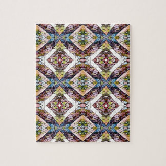 Warm Pastel Tribal Pattern Puzzle