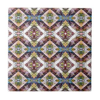 Warm Pastel Tribal Pattern Tile