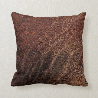 Warm Shadows Throw Pillow