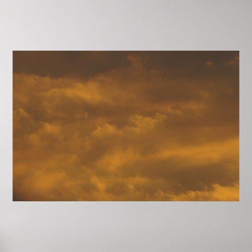 Warm Sky Print