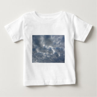 Warm sky with giants cumulonimbus clouds at sunset baby T-Shirt