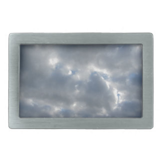 Warm sky with giants cumulonimbus clouds at sunset belt buckles