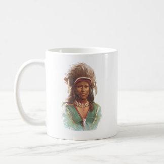 Warm Springs Chief: Agate Arrowpoint Coffee Mug