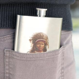 Warm Springs Chief: Agate Arrowpoint Flasks