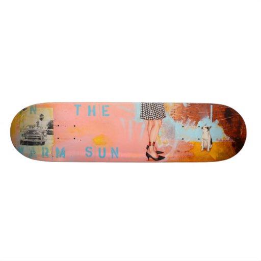 Warm Sun Deck Skate Board Deck