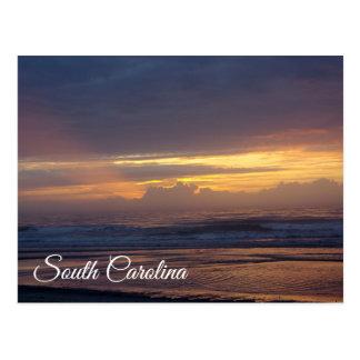 Warm Sunlight on South Carolina Beach Postcard