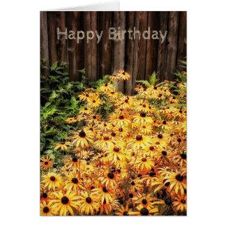 Warm Sunny Wishes Birthday Card