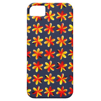 Warm Sunset Flowers iPhone 5 Cover