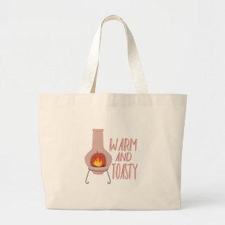 Warm & Toasty Large Tote Bag