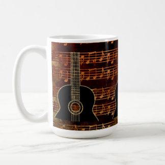 Warm Tones Classic White Coffee Mug