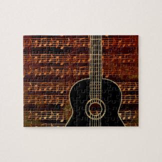 Warm Tones Guitar ID280 Jigsaw Puzzle