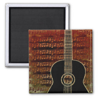 Warm Tones Guitar ID280 Square Magnet