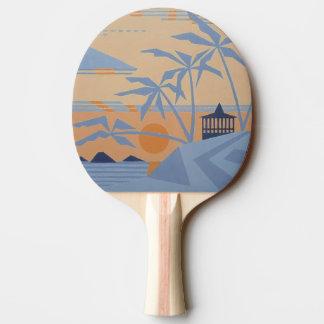 WARM TROPICS Ping-Pong Paddle