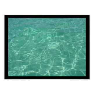 Warm Water Print