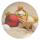 Warm Weather Christmas Plate