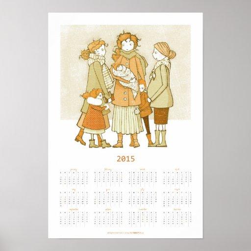 Warm Wintertime | 2015 Poster Calendar