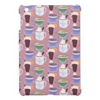 Warm Wintery Drinks Print iPad Mini Cases