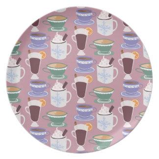 Warm Wintery Drinks Print Plate