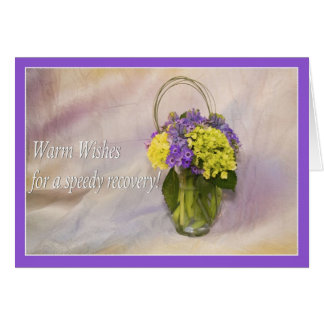 Warm Wishes In Your Surgery Recovery Greeting Card