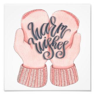 Warm Wishes Photo Print