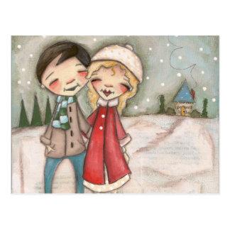 Warm Wishes - Postcard