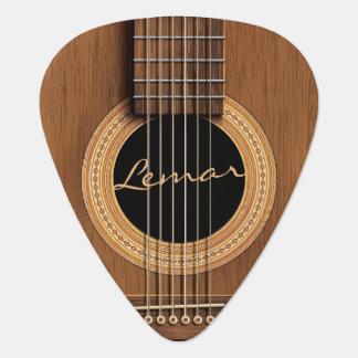 Warm Wood Acoustic Guitar Guitar Pick