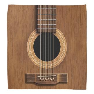 Warm Wood Acoustic Guitar Head Kerchiefs