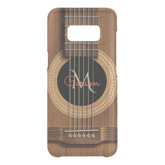Warm Wood Acoustic Guitar Uncommon Samsung Galaxy S8 Case
