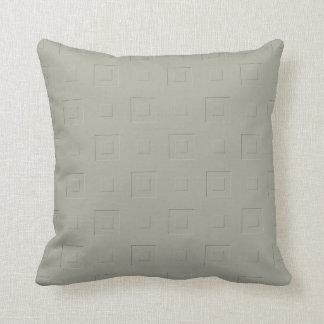 Warm Yellow Checkered Throw Pillow