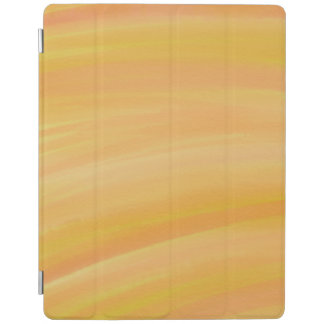 Warm Yellow Sunset Watercolor iPad Cover