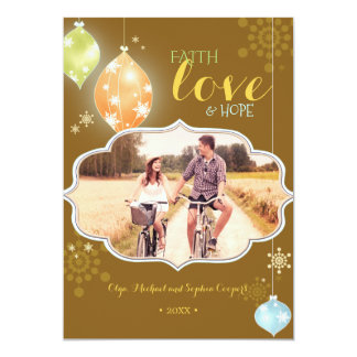 Warmest Blessings Holiday Photo Card