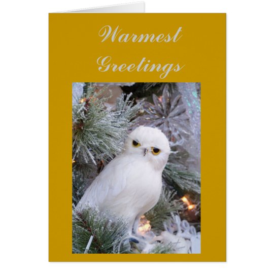 Warmest Greetings Card