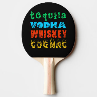 Warming Drinks Ping-Pong Paddle