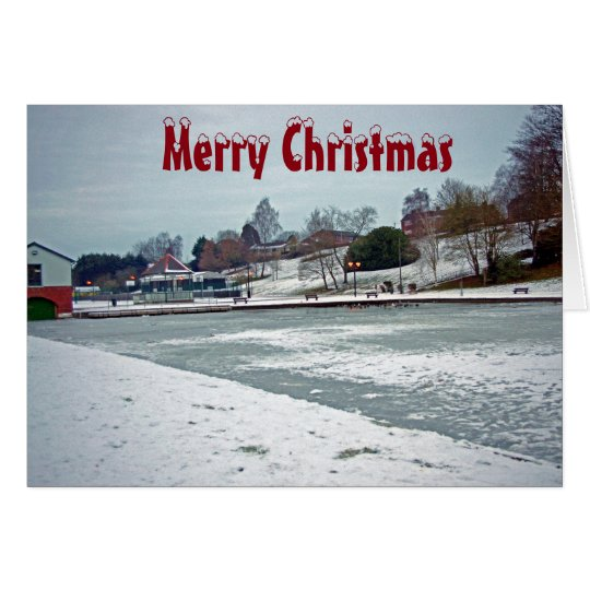 Warminster Lake Christmas Card