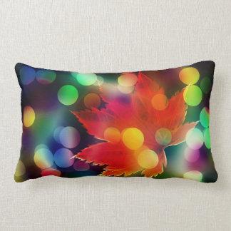 Warmth Autumn's Colors Lumbar Pillow