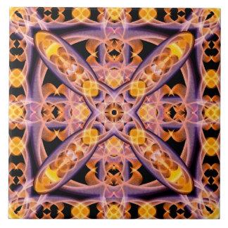 Warmth Mandala Tile