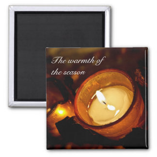 Warmth of the Season Magnet