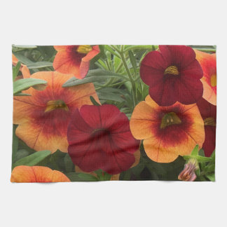 Warmth Of The Sun Floral Kitchen Towel