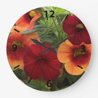 Warmth Of The Sun Floral Large Clock