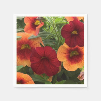 Warmth Of The Sun Floral Paper Napkins