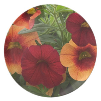 Warmth Of The Sun Floral Party Plates