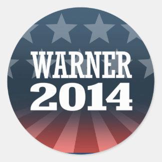 WARNER 2014 STICKER