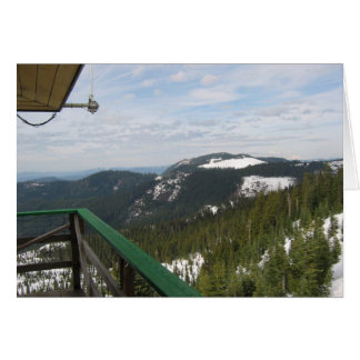Warner Mountain Fire Lookout Card