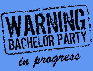 e694b46d532663 WARNING BACHELOR PARTY IN PROGRESS t shirts