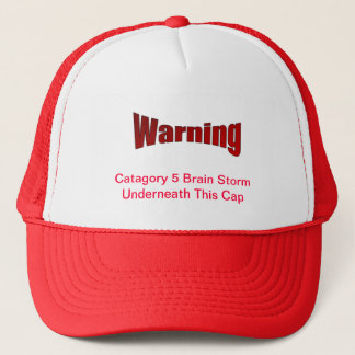 Warning Ball Cap