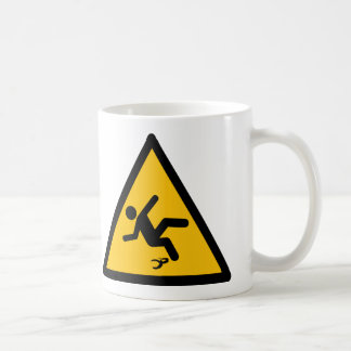 Warning Banana Peel Slippery Coffee Mug