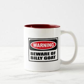 Warning BEWARE OF BILLY GOAT Mug