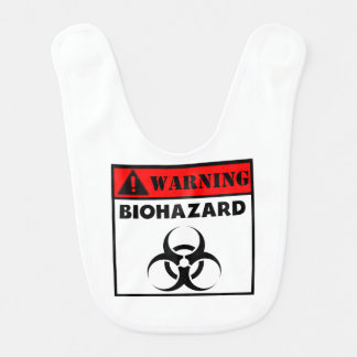 Warning Biohazard Bib